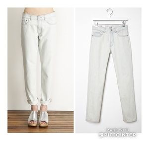 Acne Bleached Boy Straight Jeans